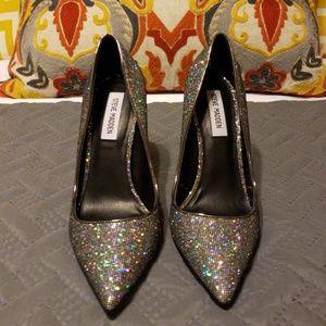 Steve Madden Daisie Glitter Heels